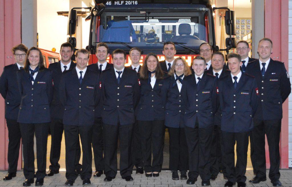 Beförderungen der Feuerwehr Bischweier 2019