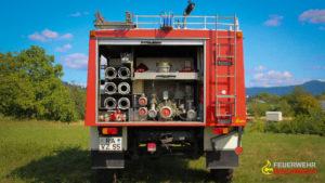 Tanklöschfahrzeug (TLF) © Feuerwehr Bischweier