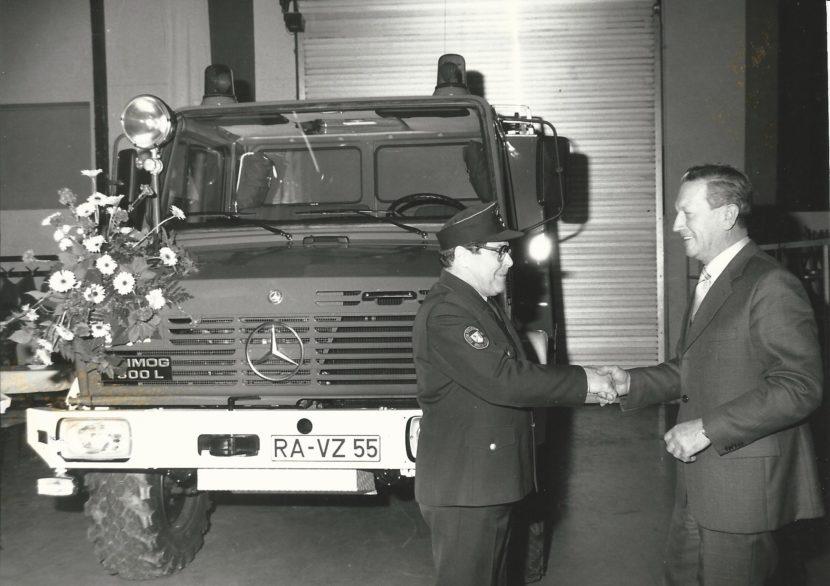 Unser TLF 8/18 © Feuerwehr Bischweier
