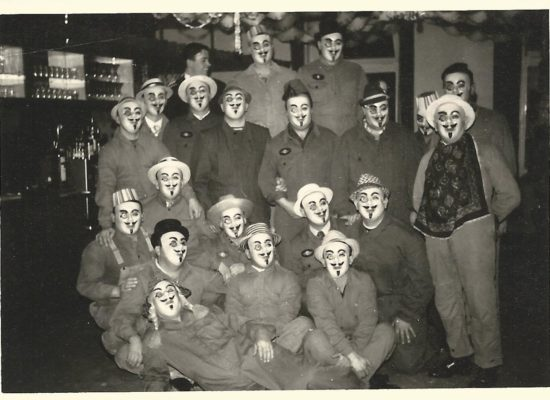 Fasentgruppe der Feuerwehr Bischweier (1965) ©Feuerwehr Bischweier